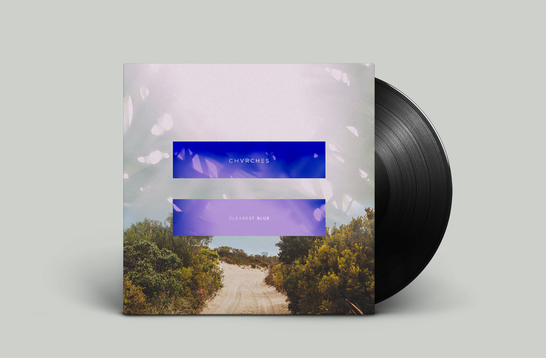 Chvrches Band Music Clearest Blue Record Sleeve Design