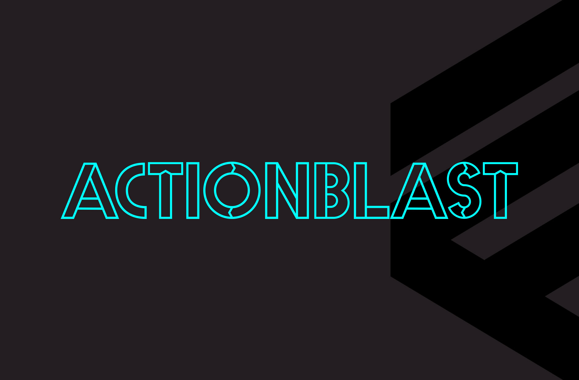 ActionBlast Events Brand Identity